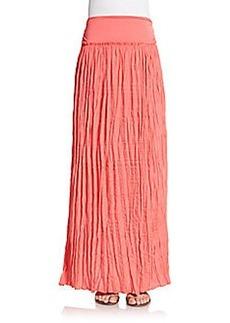 Saks Fifth Avenue BLUE Boho Maxi Skirt