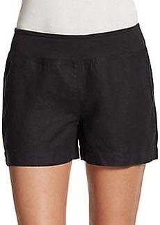 Saks Fifth Avenue BLUE Linen Shorts