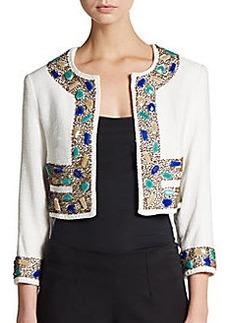 Saks Fifth Avenue BLUE Mykonos Embellished Jacket