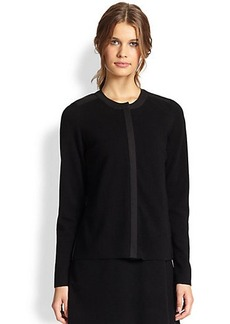 Saks Fifth Avenue Collection Back-Pleat Cardigan