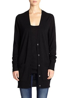Saks Fifth Avenue Collection Cashmere Long Cardigan