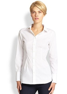 Saks Fifth Avenue Collection Fitted Button-Down Shirt