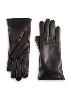 Saks Fifth Avenue Collection Lambskin Leather Gloves