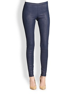 Saks Fifth Avenue Collection Leather Leggings