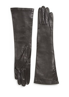 Saks Fifth Avenue Collection Long Leather Gloves