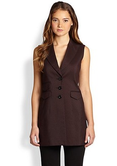 Saks Fifth Avenue Collection Menswear Jacquard Vest