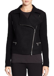 Saks Fifth Avenue Collection Moto Jacket