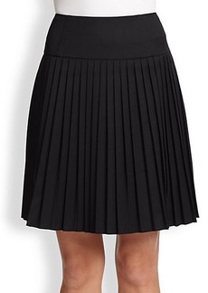 Saks Fifth Avenue Collection Pleated Short Skirt
