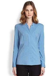 Saks Fifth Avenue Collection Poplin Dress Shirt