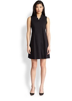 Saks Fifth Avenue Collection Poplin Shirtdress