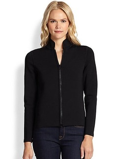 Saks Fifth Avenue Collection Power Stretch Cardigan-Jacket