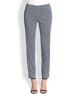 Saks Fifth Avenue Collection Printed Capri Pants