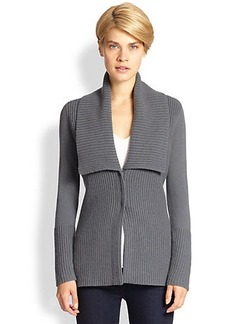 Saks Fifth Avenue Collection Ribbed Cardigan
