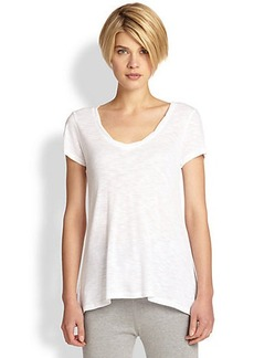 Saks Fifth Avenue Collection Rounded Twisted Tee
