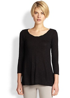 Saks Fifth Avenue Collection Rounded Twisted Top