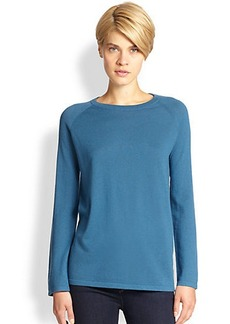 Saks Fifth Avenue Collection Silk-Back Sweater
