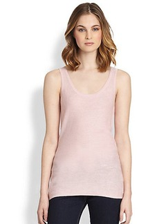 Saks Fifth Avenue Collection Silk/Cashmere Tank Top