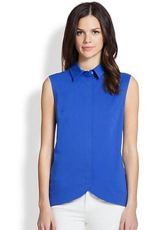 Saks Fifth Avenue Collection Sleeveless Cutaway Top
