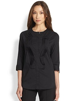 Saks Fifth Avenue Collection Wave-Pleated Top