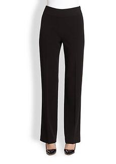 Saks Fifth Avenue Collection Wide-Leg Pants