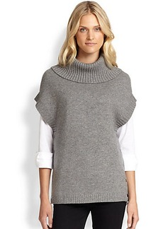 Saks Fifth Avenue Collection Wool/Cashmere Poncho
