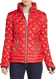 Saks Fifth Avenue Diamond Quilted Down Jacket