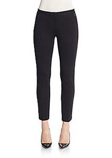 Saks Fifth Avenue Double-Knit Cigarette-Leg Pants