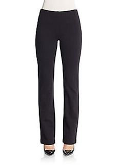 Saks Fifth Avenue Double-Knit Flare Pants