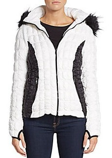 Saks Fifth Avenue Down Quilted Hooded Jacket