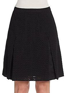 Saks Fifth Avenue Eyelet Skirt
