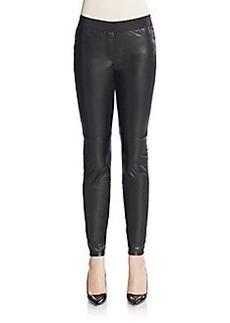 Saks Fifth Avenue Faux Leather Leggings