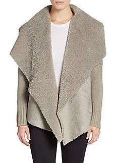 Saks Fifth Avenue Faux Shearling-Lined Jacket