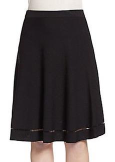 Saks Fifth Avenue Flared Knit Skirt