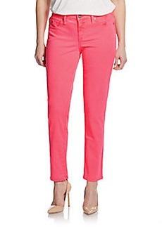 Saks Fifth Avenue GRAY Neon Skinny Jeans