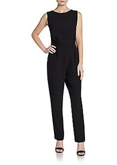 Saks Fifth Avenue RED Sleeveless Lace-Back Jumpsuit
