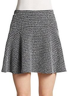 Saks Fifth Avenue RED Tweed Flippy Skirt