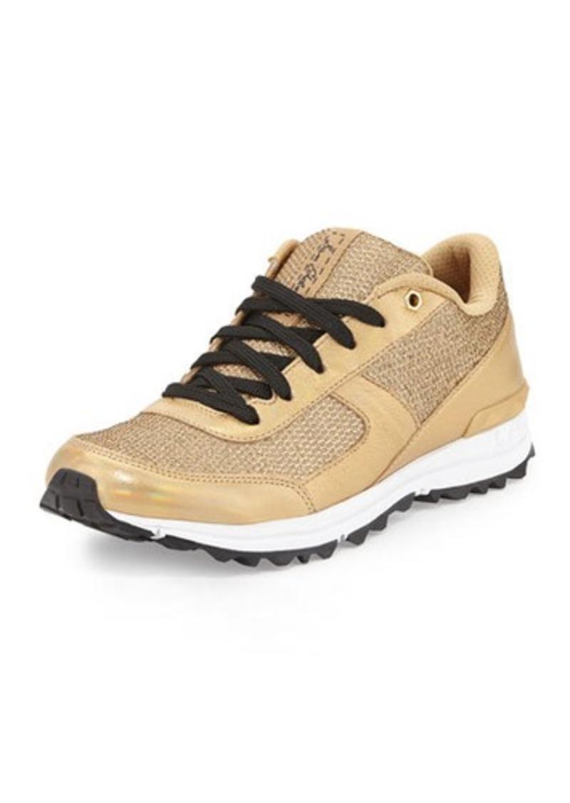 sam edelman sam edelman dax metallic sneaker shoes