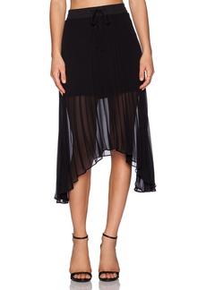 Sanctuary Allure Pleated Midi Skirt