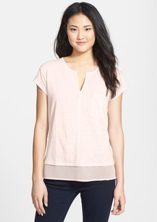 Sanctuary 'City Mix' Layered Look Tee