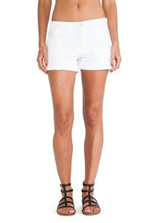 Sanctuary Classic Globe Trotter Shorts in White
