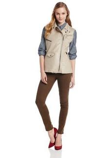 Sanctuary Clothing Women's Fur City Vest