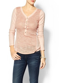 Sanctuary Day Henley Knit Top