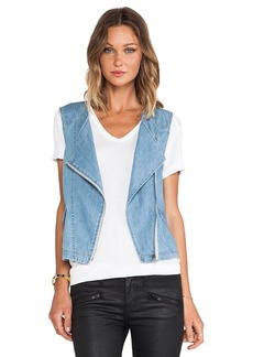 Sanctuary Denim Tomboy Vest in Blue