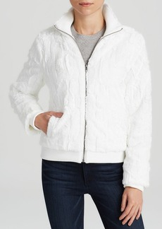 Sanctuary Faux Fur Bomber Jacket