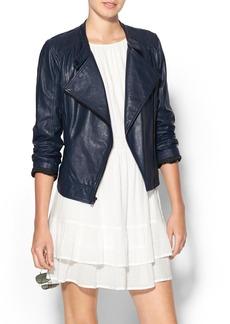 Sanctuary Genuine Leather Jacket
