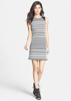 Sanctuary Geo Print Sheath Dress