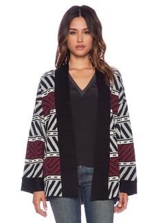 Sanctuary Graphic Loom Cardigan