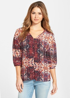 Sanctuary 'Lara' Print Boho Blouse
