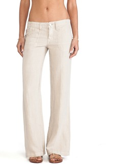 Sanctuary Linen Breezeway Wide Leg Pants