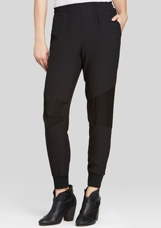 Sanctuary Mixed Media Jogger Pants